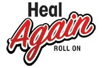 Heal Again Roll On Logo