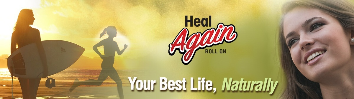 Heal Again Roll On CBG and CBD pain relief for your Muscles and Joints