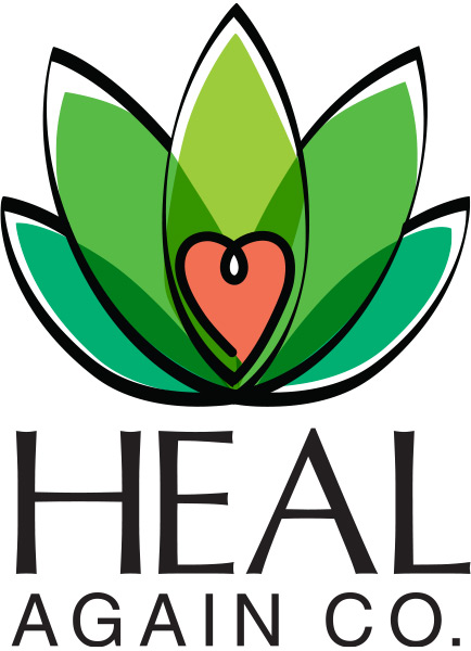 Heal Again Co. Logo for Email Header